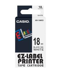 Casio XR 18WE1 Label Printer Tape