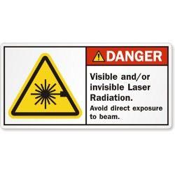 Laser Radiation Labels