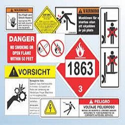 Use Caution Sticker