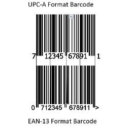 Barcode Registration Fee for 1 year