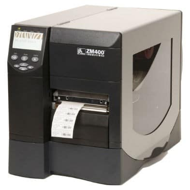 Zebra ZM400 Barcode Printer