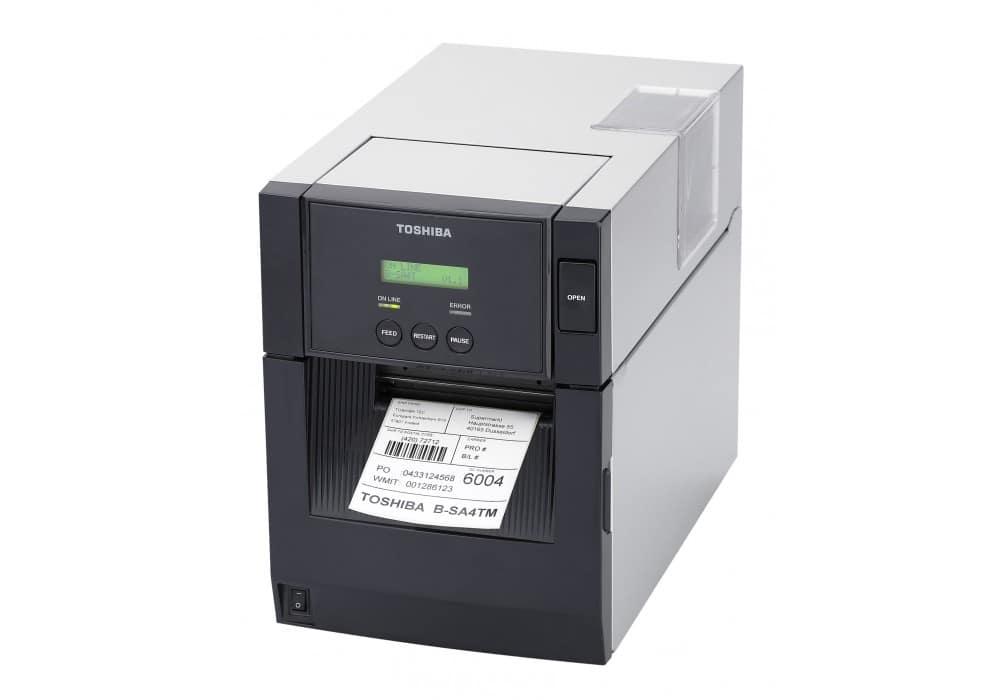 TOSHIBA B SA4T Barcode Printer